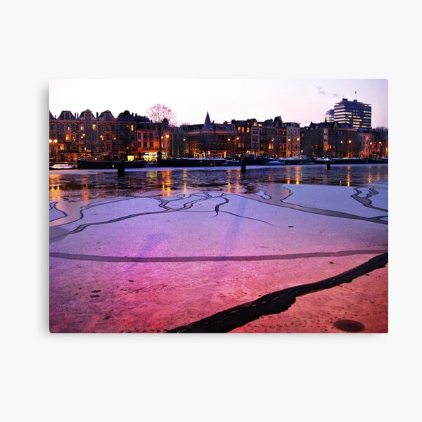 Frozen winter XII Canvas Print