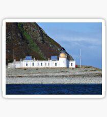Ailsa Craig Lighthouse Scotland Sticker
