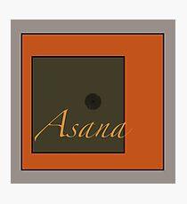 Asana Photographic Print