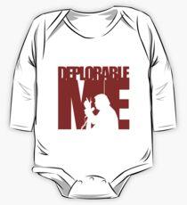 Deplorable Me (Basket Case) One Piece - Long Sleeve