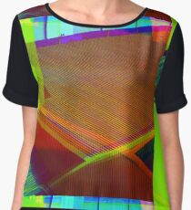 Holographic Hardware  Chiffon Top