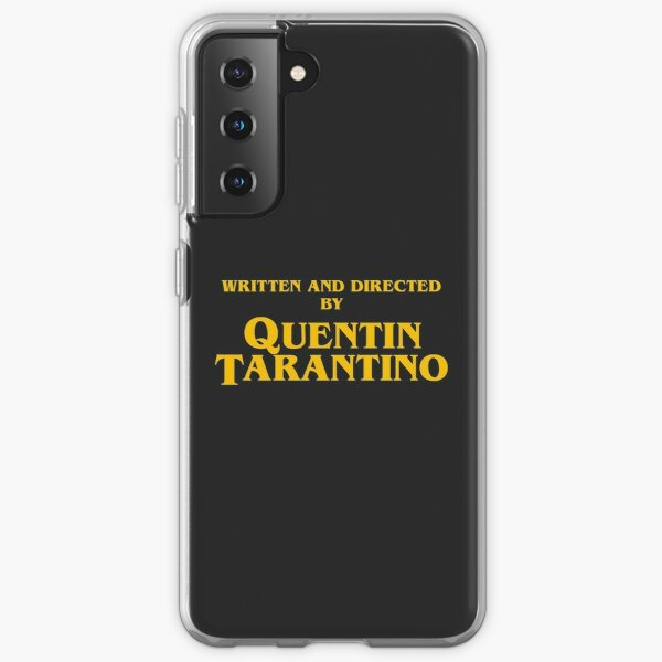 Written and directed by Quentin Tarantino - Inglorious bast. - Accurate Samsung Galaxy Soft Case
