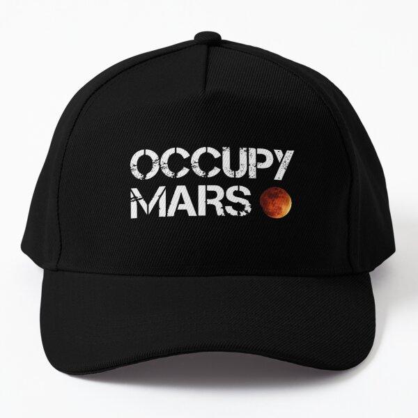 Occupy Mars logo Baseball Cap