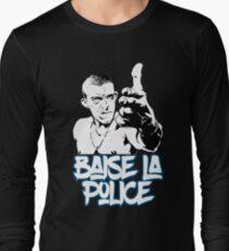 la haine the hate anti police acab movies film france french paris hip hop Long Sleeve T-Shirt