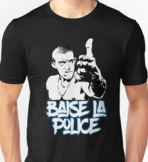 la haine the hate anti police acab movies film france french paris hip hop T-Shirt
