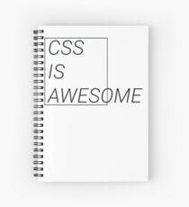 CSS at its best Spiral Notebook