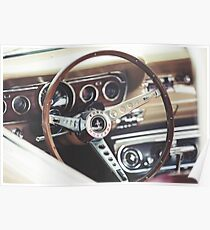 Ford Mustang Interior Poster