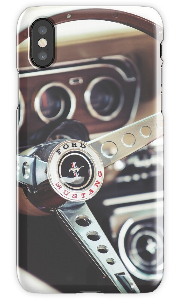 Ford mustang interior iphone cases skins by psankey for Interior iphone x