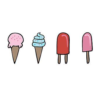 Pequeño helado de clairechesnut