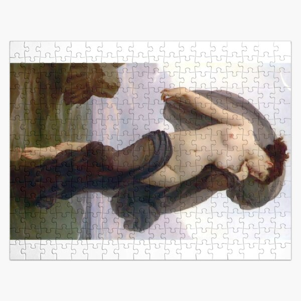 Evening Mood painting by William-Adolphe Bouguereau Jigsaw Puzzle