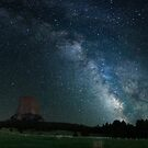 Devil's Tower with Milky Way by Gary Lengyel