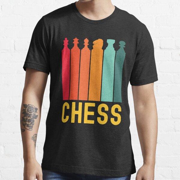 Chess Retro Sunset / Power Play Chess Essential T-Shirt