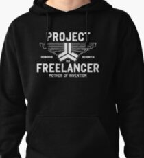 Red vs. Blue  - Project Freelancer Pullover Hoodie