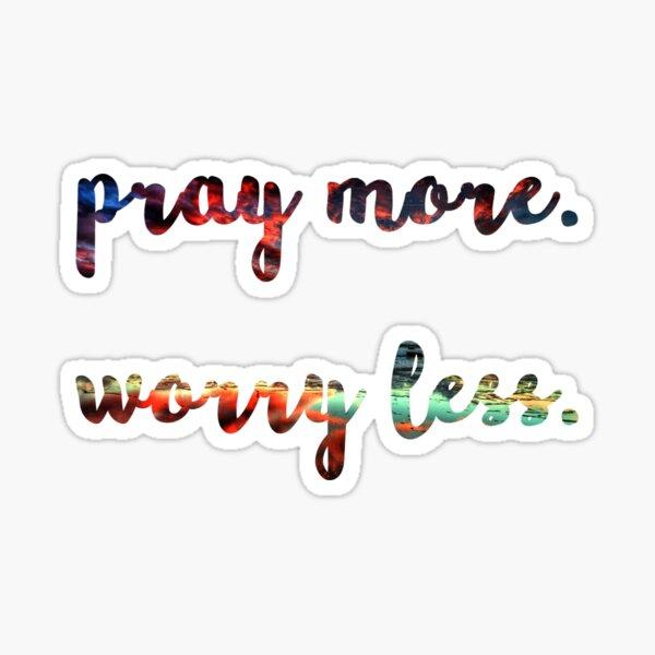 bete mehr Sticker