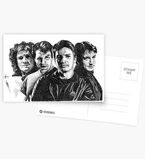 The Many Faces of Nathan Fillion Postcards