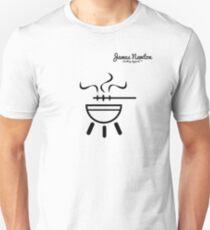 BBQ T-shirt - James Newton Apparel Unisex T-Shirt