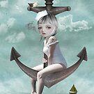 Sailor Girl - Raise The Anchor by Tanya  Mayers