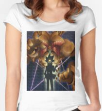 Yugioh Exodia Women's Fitted Scoop T-Shirt