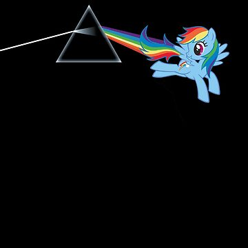 Rainbow Dash: Dark side of the moon (Brony) by datthomas