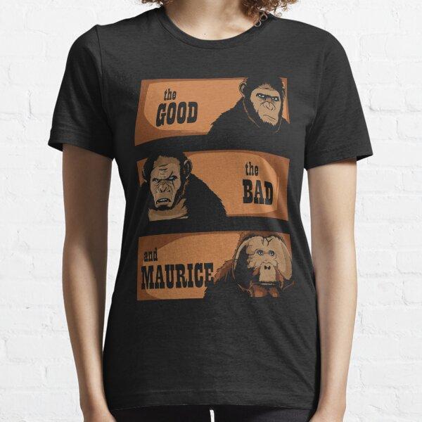Le bon, le mauvais et maurice T-shirt essentiel