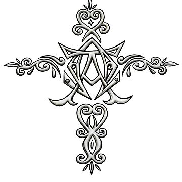 Alpha and Omega Cross by Sladeside