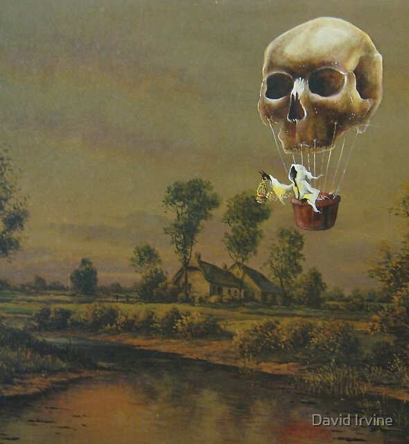 Travelling Ghost by David Irvine