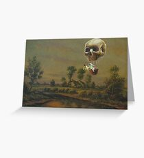 Travelling Ghost Greeting Card