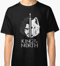 White Wolf Snow King of The North Classic T-Shirt