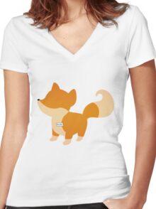 Mulder Women's Fitted V-Neck T-Shirt