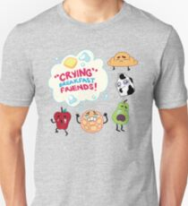"""Crying"" Breakfast Friends! // Steven Universe T-Shirt"