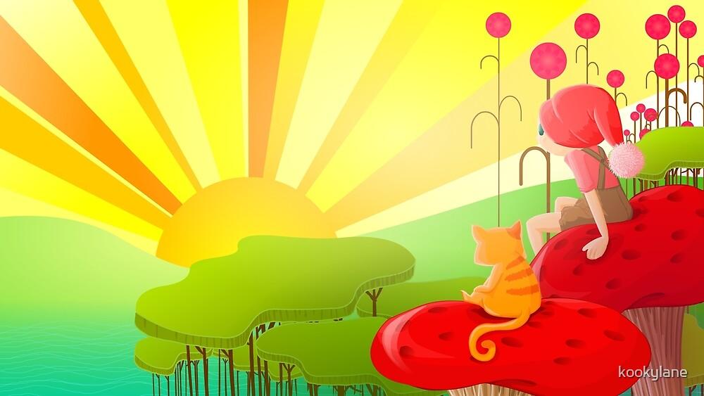 rising sun by kookylane