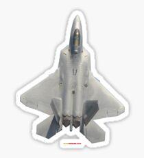 Plane & Simple - F22 Raptor Fighter Sticker