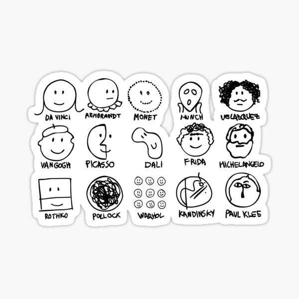 artists Sticker