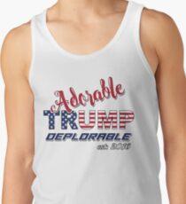 Original Adorable Deplorable   TRUMP SUPPORTER  Men's Tank Top
