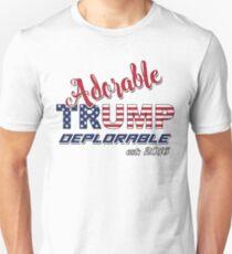Original Adorable Deplorable   TRUMP SUPPORTER  Unisex T-Shirt