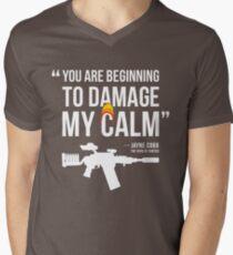 Damaging My Calm Men's V-Neck T-Shirt