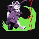 Haruko - Colorblock by r-fLowers