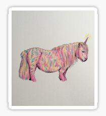 Shetland Unicorn Sticker