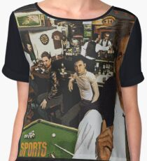 "Huey Lewis - Sports (the perfect thing for the next ""Sports"" day at work/school) Chiffon Top"