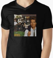 "Huey Lewis - Sports (the perfect thing for the next ""Sports"" day at work/school) Men's V-Neck T-Shirt"