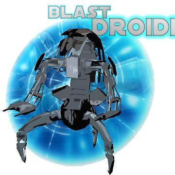 Star Wars Episode I Droideka by shaz3buzz2