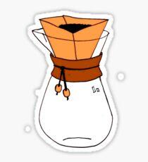 Pourover Coffee Pot Sticker