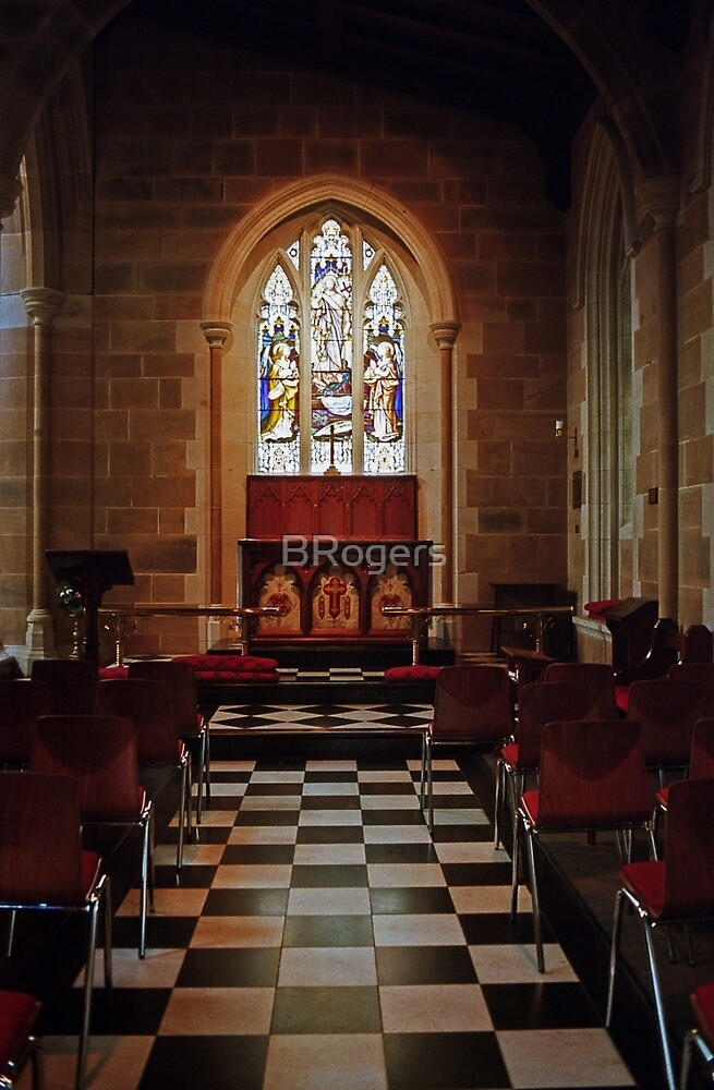 Chapel—St David's Cathedral, Hobart by BRogers