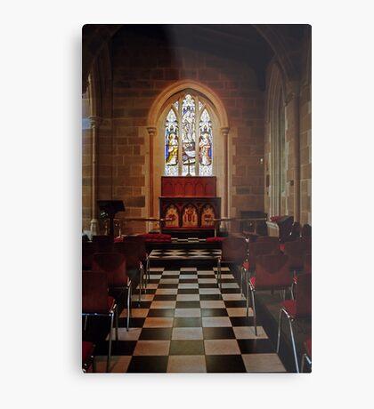 Chapel—St David's Cathedral, Hobart Metal Print