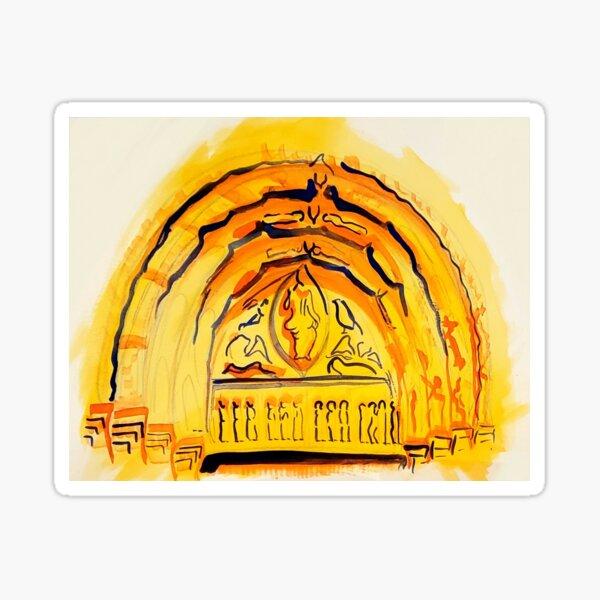 Golden Arch Sticker