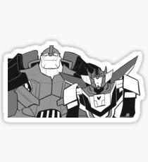 big wrecker small wrecker Sticker