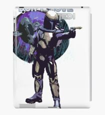 Bounty Hunter Jango Fett iPad Case/Skin
