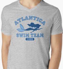 Atlantica Swim Team Men's V-Neck T-Shirt