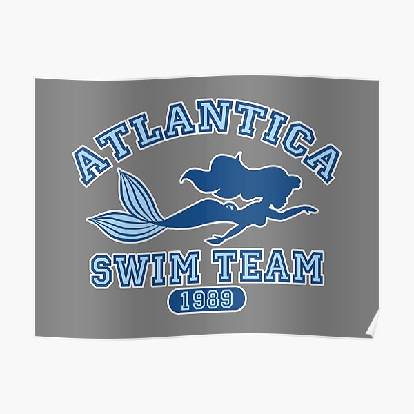 Atlantica Swim Team Poster