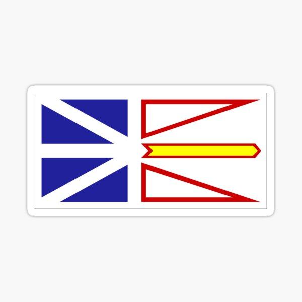 Newfoundland Flag Sticker